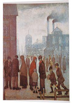 Salford Street Scene, 1928