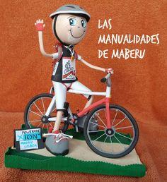 Las Fofuchas de Maberu: FofuCarlos, el ciclista alemán