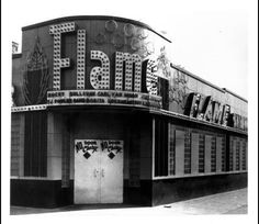 The Flame Showbar, in Detroit's Paradise Valley. Corner of Canfield and John R.
