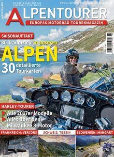 Saisonauftakt: 30 Traumziele in unseren #Alpen inkl. #Tourkarten 🏍🌄  Jetzt in @alpentourer:  #Motorrad #Reise #Touren