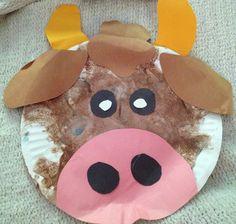 Bull craft ferdinand preschool crafts, farm animal crafts и Farm Animal Crafts, Farm Crafts, Farm Animals, Recycled Crafts Kids, Crafts For Kids, Farm Lessons, Farm Activities, Preschool Crafts, Preschool Classroom