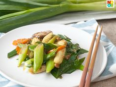 Stir-fry Chinese Leeks Recipe
