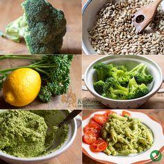 Něco zeleného se na Zelený čtvrtek sníst musí, i kdyby to měla být jen brokolice a petrželka Emotikona smile Hlávku brokolice rozebereme na...