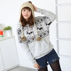 Buy '59 Seconds – Nordic-Print Hooded Pullover' with Free International Shipping at YesStyle.com. Browse and shop for thousands of Asian fashion items from Hong Kong and more!