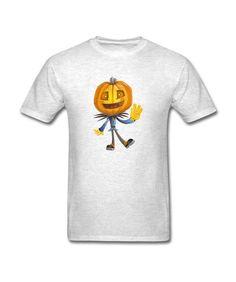 Light oxford Pumpkin Head Goed verkopend Men's T-shirt