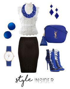 """Untitled #6"" by cristofipinelopi on Polyvore featuring Oscar de la Renta, River Island, Yves Saint Laurent, Marie Hélène de Taillac, Humble Chic, Matthew Williamson, contestentry, laceupsandals and PVStyleInsiderContest"