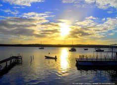 Por do Sol Na Praia de Jacaré em João Pessoa, Paraíba, Nordeste do Brasil. #João Pessoa - Paraíba - Brasil. O paraíso é aqui!