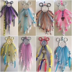 Disney inspired Dream Catchers These tiny dream catchers are handmade by me, and only me. They are perfect for rear view mirror! Great for gifts! Disney inspired Dream Catchers. Mostly princesses, I am working on Villains soon! I take custom orders! Other