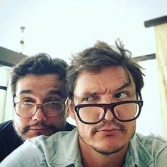 Wagner Moura and Pedro Pascal | NARCOS