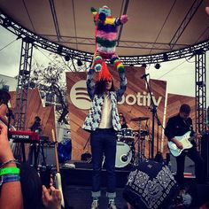 With a head full of cough syrup and a piñata named Donnie, the first #BØRNS sxsw show was a great success!