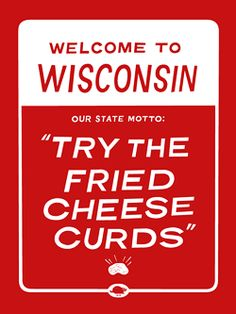 One of our followers had this pin, and we loved it!  Beloit College Try the fried cheese curds The Little Friends of Printmaking Ye Olde Shoppe