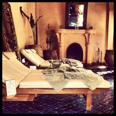 A quiet & zen moment @Hotel Les Deux Tours Marrakech hammam after a wellness treatment @ Les Bains des Deux Tours