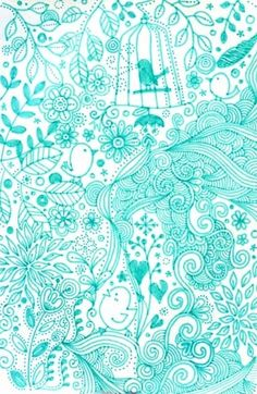 Delirious Doodles by Delirium Illustration and Motion Graphics. Tangle Doodle, Doodles Zentangles, Zen Doodle, Doodle Art, Bird Doodle, Wallpapers Verdes, Illustrations, Illustration Art, Doodle Inspiration