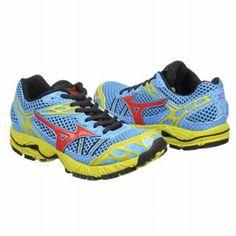 Mizuno Wave Ascend 7 Shoes (Fluorite/Red/Lichen) - Women's Shoes - 7.0 M