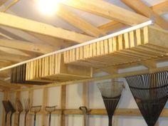 DIY Winter (or anytime) Frame Storage #diybeekeeper