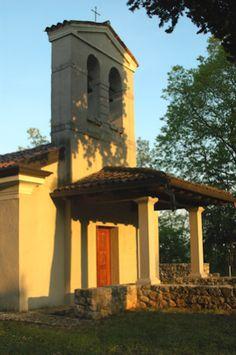 Borgnano - Chiesetta di Santa Fosca sul colle