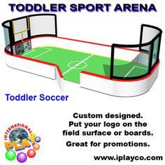 Toddler Soft Foam Sport Arenasddler Soccer by Soft Foam by Iplayco Soccer Room, Play Soccer, Indoor Soccer, Playground Design, Outdoor Playground, Toddler Soccer, Toddler Play, Indoor Play Equipment, Best Commercials