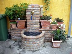 Large backyard landscaping ideas are quite many. However, for you to achieve the best landscaping for a large backyard you need to have a good design. Garden Yard Ideas, Garden Crafts, Garden Projects, Garden Sink, Garden Furniture Design, Large Backyard Landscaping, Brick Garden, Garden Fountains, Small Garden Design