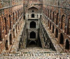 highly impressive step wells India Dholavira, in Kutch have unearthed a 5,000-year-old step well that is huge is size.