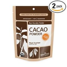 Navitas Naturals Cacao Powder, 16-Ounce Pouches (Pack of 2) --- http://www.pinterest.com.itshot.me/2vq