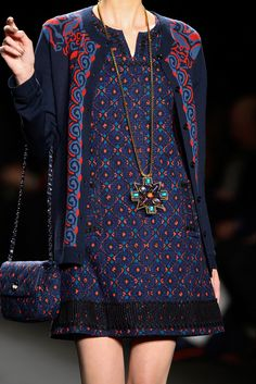 Anna Sui - Fall 2013 Ready-to-Wear - Look 37 of 106