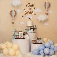Boy Baby Shower Themes, Baby Boy Shower, Baby Tea, Christening Decorations, Shower Inspiration, Baby Scrapbook, Rainbow Baby, Baby Party, Baby Decor