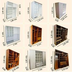 modelos placard - closet design ideas closet design ideas closet measurement Dressing Cupboard, Dressing Room, Room Closet, Closet Space, Master Closet, Closet Organization, Armoire, Built In Wardrobe, Bedroom Wardrobe