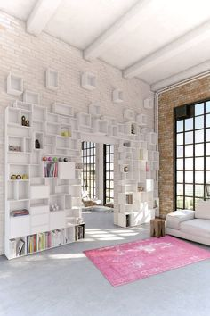 Decorating with Storage Wall Cubit by Mymito