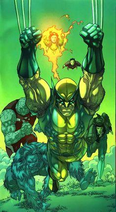 X-Men by Salvador Larroca
