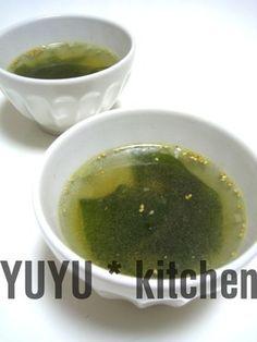 焼肉屋さんのワカメスープ♪ by わだゆゆ [クックパッド] 簡単おいしいみんなのレシピが253万品