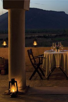 The property can arrange a romantic private dining experience. Vivanta by Taj - Sawai Madhopur Lodge (Rajasthan, India) - Jetsetter