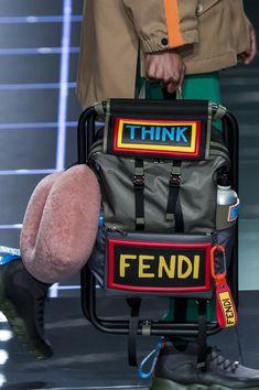 Fendi Fall 2017 Men's Details