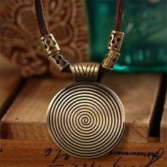 Maxi Collier Jewelry Collares Vintage Necklaces  Pendants Choker Leather Rope Statement Necklace http://www.braceletstyle.com