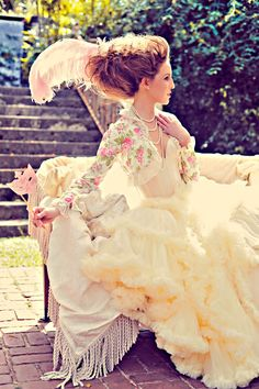 Modern Marie Antoinette Inspiration · Styled Photo Shoots · Rock n Roll Bride