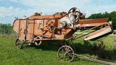 11 Best Old Threshing Machines Images Thrasher Agriculture
