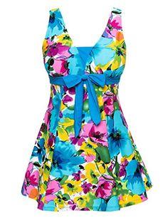 British Womens Halter Shaping Body One-Piece Swimsuit Plus Size Swimwear #British #UK #PlusSize #FashionBug #BathingSuits #Swimsuits #Swimwears
