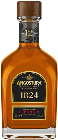 Aged for a minimum of twelve years in ex-bourbon barrels, this rum is made by the world-famous House of Angostura in Port of Spain, Trinidad.