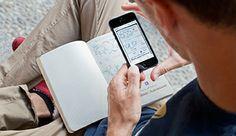 Moleskine vient d'éditer une application pour optimiser la numérisation de vos croquis papier.