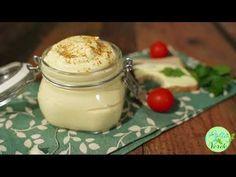 Maioneza de post/ vegana - YouTube Raw Vegan, Glass Of Milk, Pudding, Youtube, Desserts, Food, Chef Recipes, Cooking, Tailgate Desserts