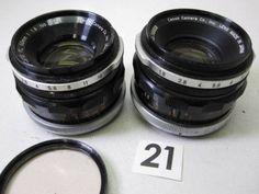 5L139EB CANON FL 50mm F1.8 レンズまとめて2本ジャンク_画像1