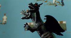 One of Andy's toys: a two-headed dragon | The Harvest (2013), directed by John McNaughton | Tags: #screencaps, horror movie, film