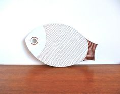 Mid Century Arabia Finland Fish Trivet at HotCoolVintage on Etsy