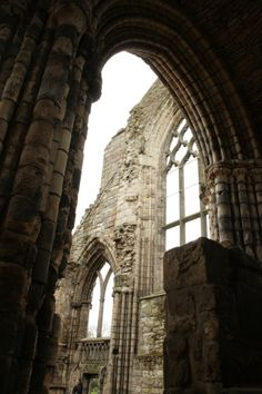 Holy Rood Abbey Ruins, Edinburgh, Scotland. Spring 2013. All Rights Reserved, 2014.