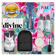 """""""Untitled #26"""" by perla-s-duenas-gonzalez on Polyvore featuring Designers Guild, Chicnova Fashion, Lipsy, Rains, Kate Spade and MAC Cosmetics"""