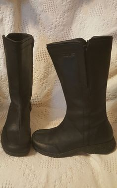 Teva women's shoes sz 9 M Capistrano black leather mid calf boots waterproof zip | Clothing, Shoes & Accessories, Women's Shoes, Boots | eBay! SOLD