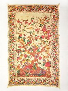 found another pin of my 'tree of life' tapestry Tree Of Life Tapestry, Wall Tapestry, Have A Nice Trip, Vintage Love, Fabric Painting, Tapestries, Magick, Needlework, Bohemian Rug