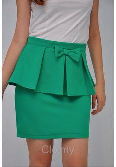 b81949e0b88 De 121 bedste billeder fra Peplum top/dress/Skirt i 2017 | Dress ...