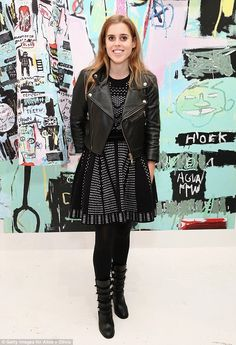 Look royally stylish in block heel boots like Beatrice #DailyMail