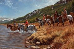 Warriors of the Shining Mountains - Ute - James Ayers Studios