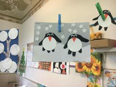 pingouin main Polo Norte, Nursery Activities, Crafts For Kids, Arts And Crafts, Winter Activities, Literacy, Art Projects, Classroom, Seasons